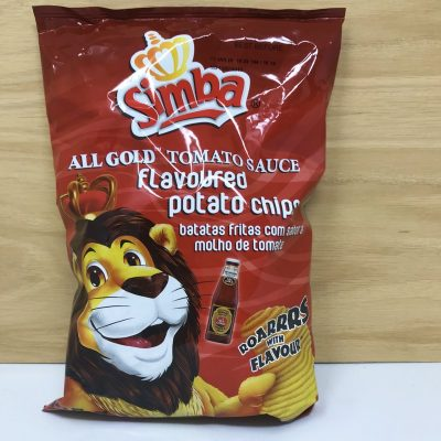 Simba All Gold Tomato flavour chips
