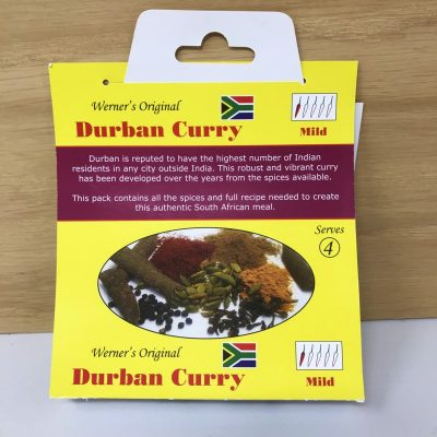 Werners Durban Curry Spice - Mild