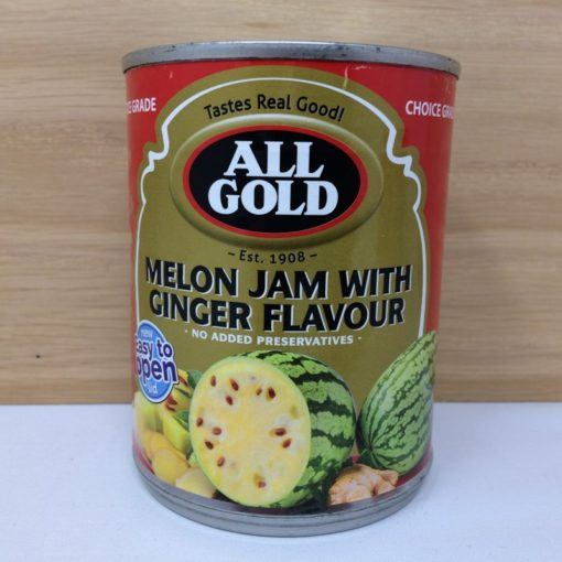 All Gold Melon Jam with Ginger Flavour