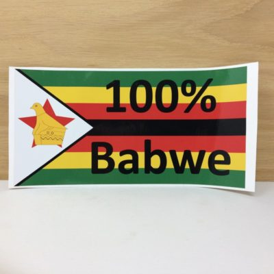 100% Babwe Sticker - Large