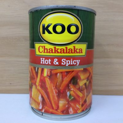 Koo Chakalaka - hot and spicy