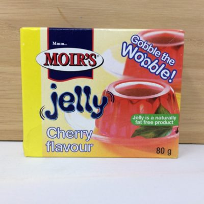 Moirs jelly 80g - cherry