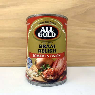 All Gold Braai Relish - Tomato & Onion